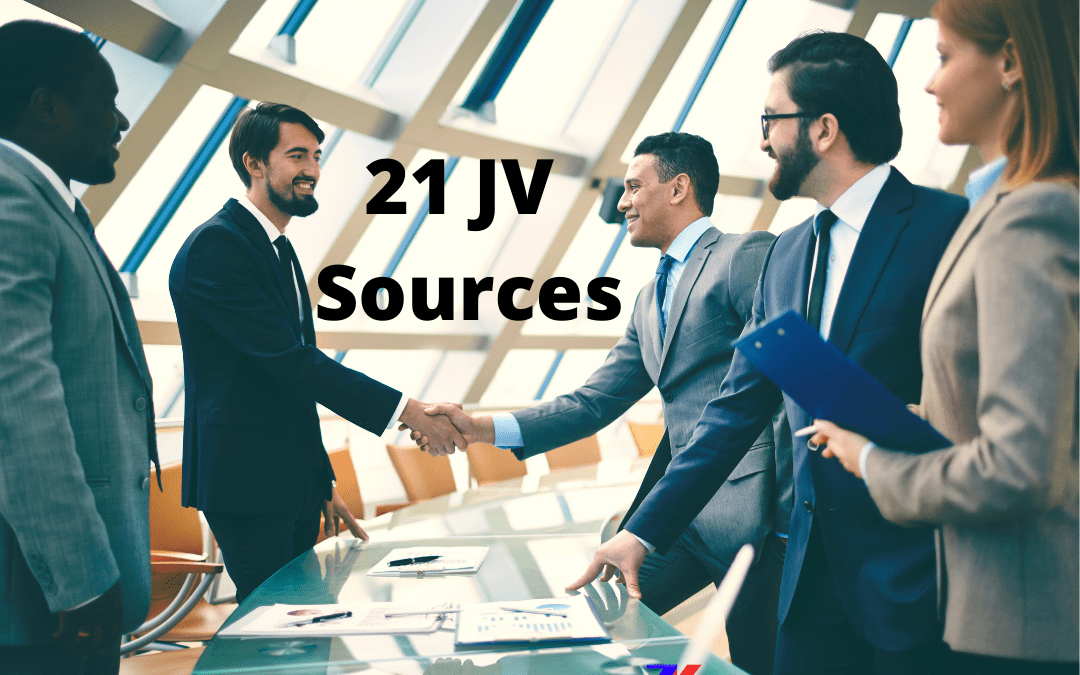 21 Ways On How To Find JVs (Joint Ventures) in 2021